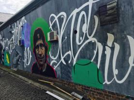 Liverpool Street graffiti's