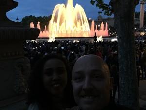 Magic Fountain of Montjuic - Barcelona