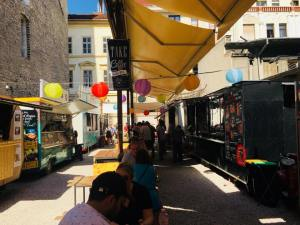 Karavan street food and beer garden - Budapest
