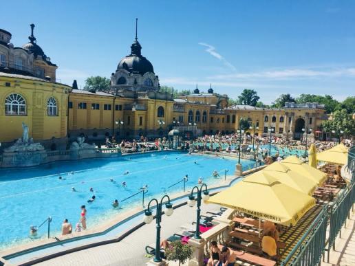 Szechenyi Bath - Budapest
