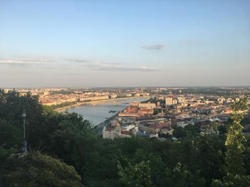 Gellert hill view - Budapest