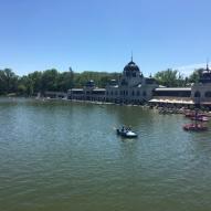 Varosliget lake - Budapest
