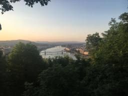 Gellert hill view