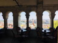 Fisherman's Bastion restaurant - Budapest