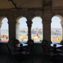 Fisherman's Bastion restaurant - Budapest