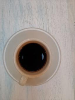 Black Colombian coffee