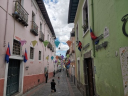 Calle La Ronda, Quito - Ecuador