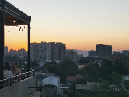 Santiago de Chile - View from Azotea Matilde