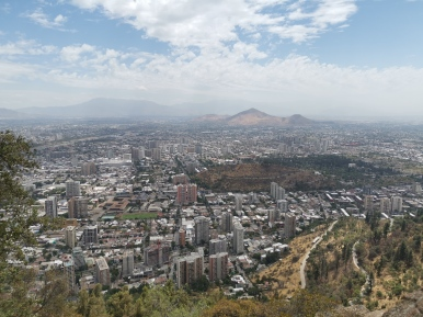 Santiago de Chile - San Cristobal Hill